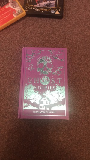 Book full of spooky ghost stories