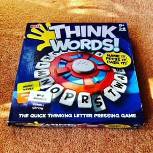 John Adams Ideal Think Words 2-8 players Age 8+ The Quick Thinking Let