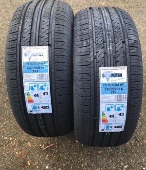 "16"" 205 55 16 Event Tyres."