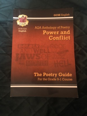 power and conflict poetry guide
