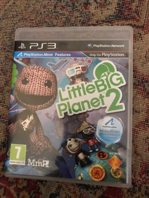 PlayStation 3 little big planet 2 game