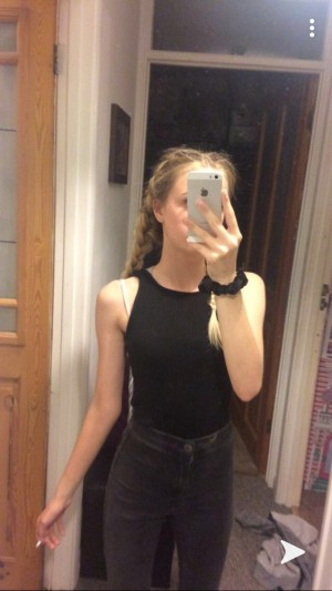 black body suit. from new look. worn once size 8 but fits a size 4 or