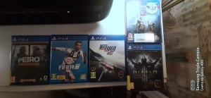 I sell games from ps4