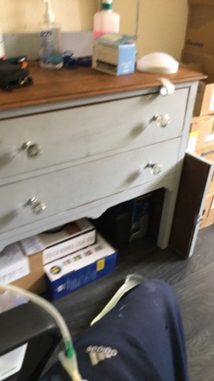 Chabby chic 2 draw dressing table