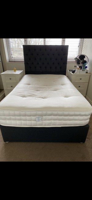 Europa bed and mattress