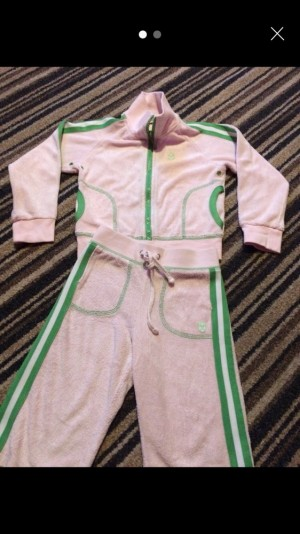 Toddler juice couture track suit