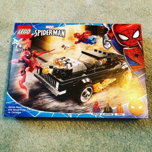 76173 LEGO Super Heroes Spider-Man and Ghost Rider vs. Carnage New & S