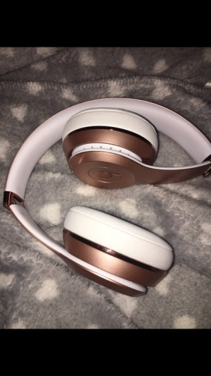 dr dre wireless rose gold