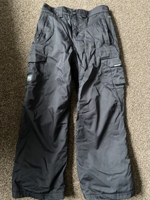 Helly Hansen trousers  age 12 black worn once