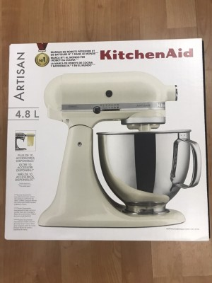 KitchenAid 4.8L stand mixer-latte