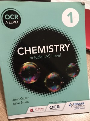 OCR A-Level Chemistry