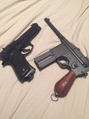 wall hangers , broken BB guns arsk for price