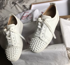 Christian Louboutin Low top spikes