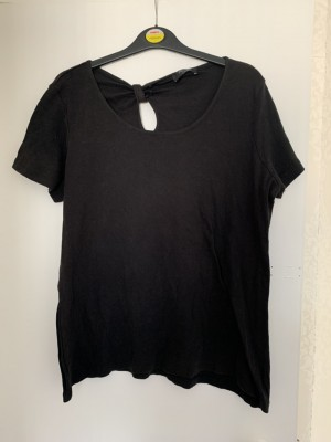 Ladies George black T-shirt size 22