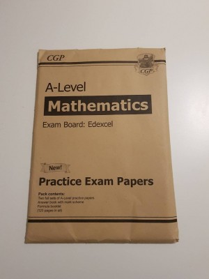 CGP A-Level Practice Exam Paper (Set of 2 papers) - Like New