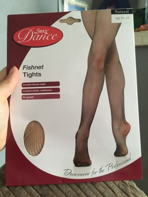 Girls fishnet tights 11-13 years
