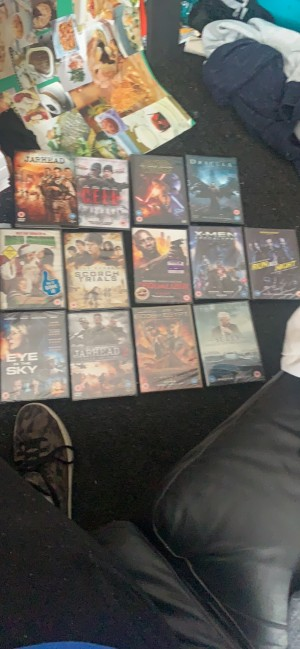 A Bunch Of DVDS