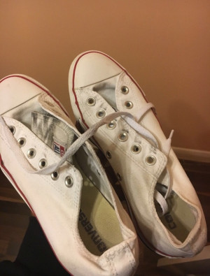 Converse Allstar White Low Trainers