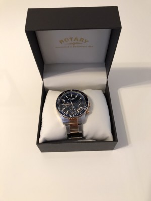 Rotary Rolex style men's watch