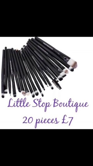 20pc make up brush set
