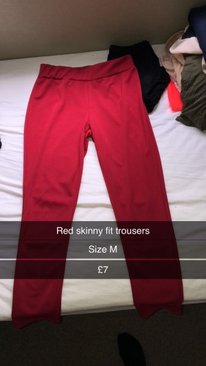 Trousers- Skinny fit