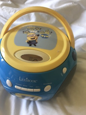 Lexi Book CD Player with radio