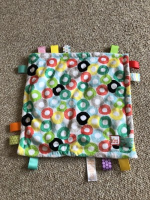 Baby comforters and taggie
