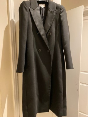 Reiss Dinner Jacket Coat with Silk Lapels Size 8