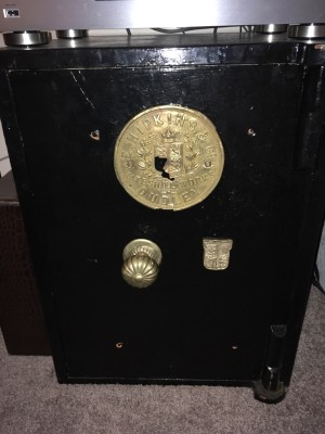 Vintage Hipkins & Co of Dudley safe