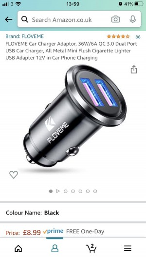 Usb for the car