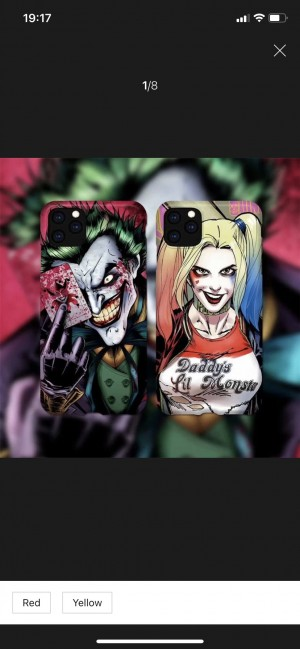 Joker & Harley Quinn cases only two 11pro max left