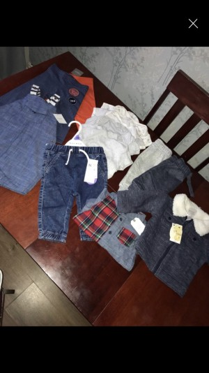 3-6 baby boy bundle