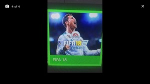 Xbox one with Fifa 18 GTA 5