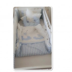 A Complete Baby Cot bed and accessories