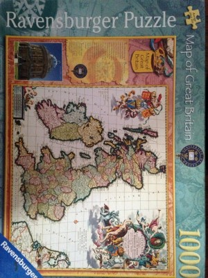 map of Great Britain puzzle