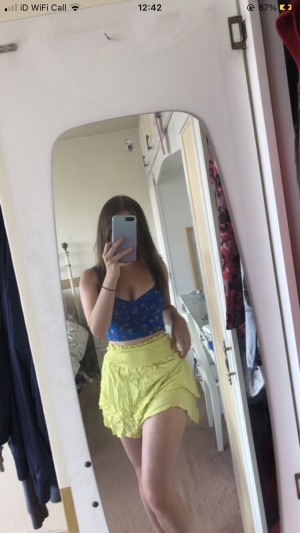 love and other things yellow skirt