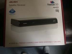 Bush freesat box