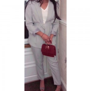Two piece missguided trouser set inc blazer and trouser xxx