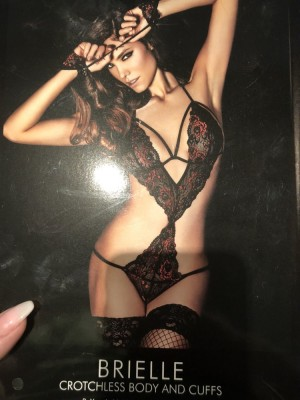Quality Ann Summers Crotchless Body & Cuffs