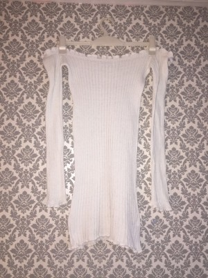 In the style white Bardot dress size 8