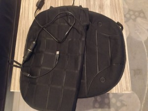 heated seat cover for car or home