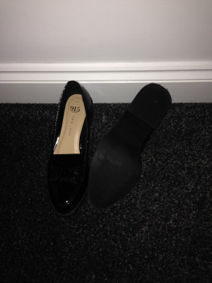 New Look loafer style flats. Brand new never been worn. Size 4