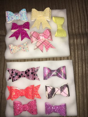 making bows clips bow bobbles headbands