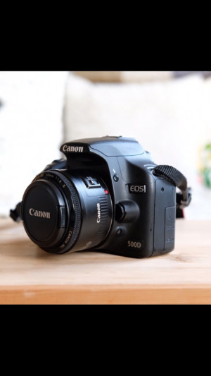 Canon 500D plus 3 lenses and more