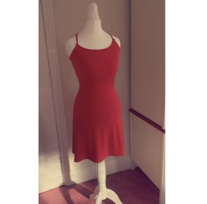 Red dress from H&M size 6