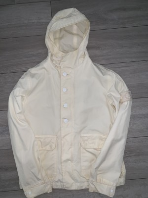 Small mens Stone Island ventile ghost piece jacket