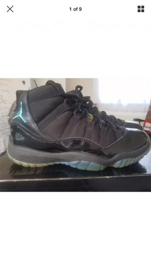 Air Jordan retro 11 Gamma Blue UK10