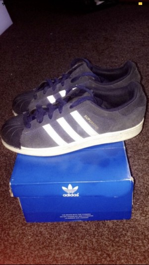 Adidas Superstars. Size 5 (junior)