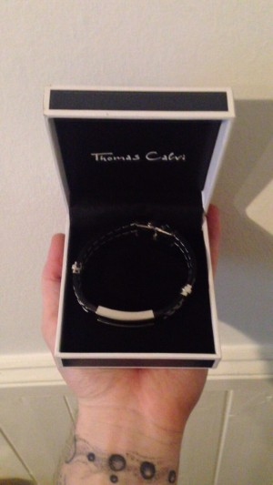 Next up is this Thomas Calvi men's wrist chain! ⛓   This was bought for my 21st birthday but I don't tend to wear these, hence the sale. Nevertheless it still looks great on!