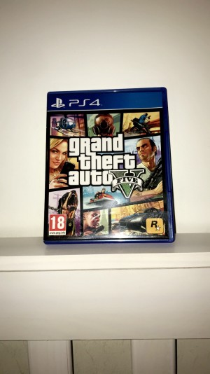 PS4 GTA 5. POST ONLY.